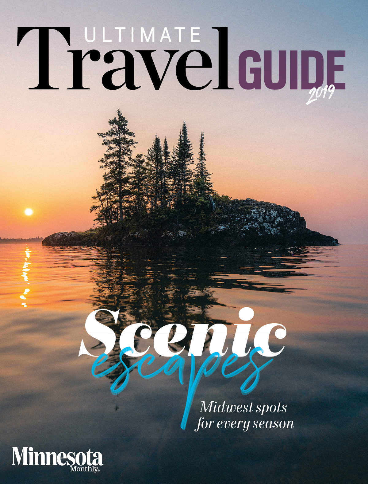 Cover of Ultimate Travel Guide, 2019