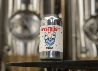 WestKust IPA by Arbeiter Brewing