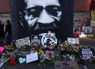 """In the wake of George Floyd's death, New Dawn Theatre Co. has put together a film to bring the community together called """"A Breath for George."""" Photo by Regina Marie Williams"""