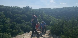 Eagle Point at Whitewater State Park